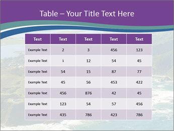 Blue Lagoon PowerPoint Template - Slide 55