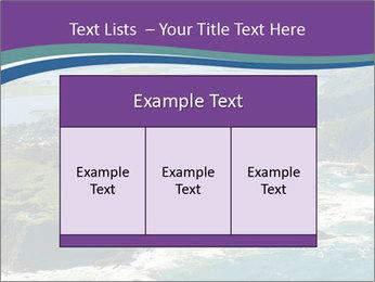 Blue Lagoon PowerPoint Template - Slide 59