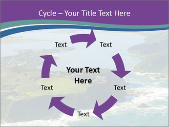 Blue Lagoon PowerPoint Template - Slide 62