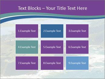 Blue Lagoon PowerPoint Template - Slide 68