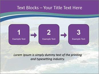 Blue Lagoon PowerPoint Template - Slide 71