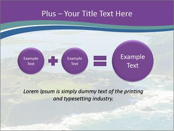 Blue Lagoon PowerPoint Template - Slide 75
