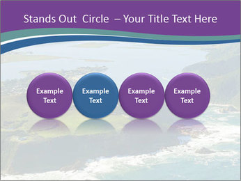 Blue Lagoon PowerPoint Template - Slide 76