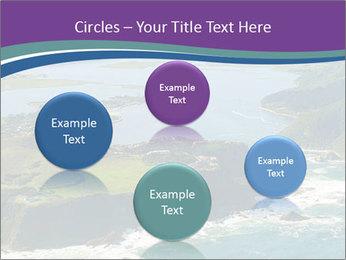 Blue Lagoon PowerPoint Template - Slide 77