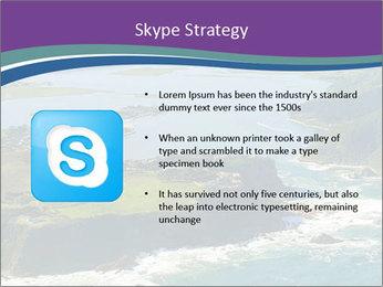 Blue Lagoon PowerPoint Template - Slide 8