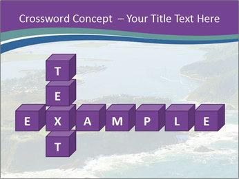 Blue Lagoon PowerPoint Template - Slide 82