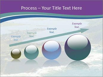 Blue Lagoon PowerPoint Template - Slide 87