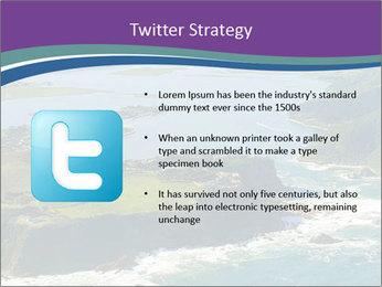 Blue Lagoon PowerPoint Template - Slide 9