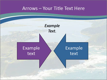 Blue Lagoon PowerPoint Template - Slide 90