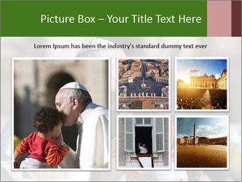Pope Kissing Child PowerPoint Template - Slide 19