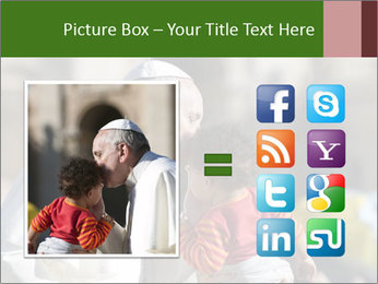 Pope Kissing Child PowerPoint Template - Slide 21