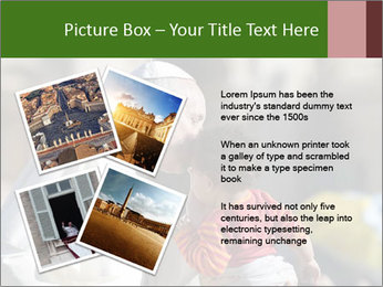 Pope Kissing Child PowerPoint Template - Slide 23