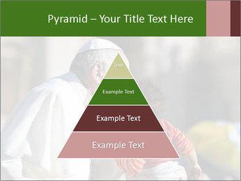 Pope Kissing Child PowerPoint Template - Slide 30