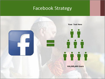 Pope Kissing Child PowerPoint Template - Slide 7