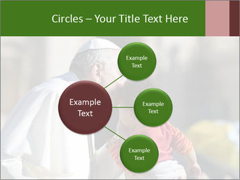 Pope Kissing Child PowerPoint Template - Slide 79