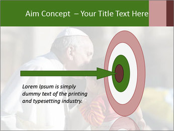Pope Kissing Child PowerPoint Template - Slide 83