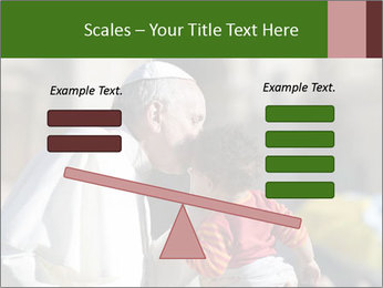 Pope Kissing Child PowerPoint Template - Slide 89