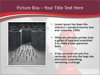 Red Chess Figure PowerPoint Template - Slide 13