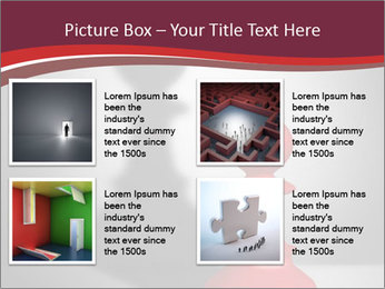 Red Chess Figure PowerPoint Template - Slide 14