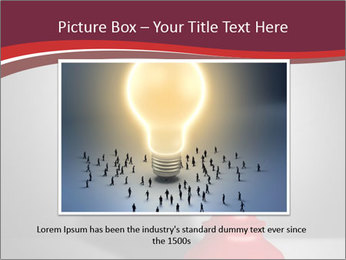 Red Chess Figure PowerPoint Template - Slide 16