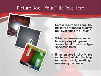 Red Chess Figure PowerPoint Template - Slide 17