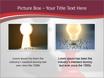 Red Chess Figure PowerPoint Template - Slide 18