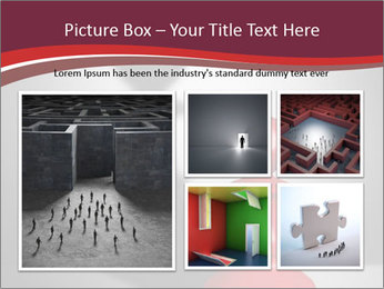 Red Chess Figure PowerPoint Template - Slide 19