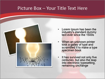 Red Chess Figure PowerPoint Template - Slide 20