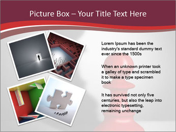 Red Chess Figure PowerPoint Template - Slide 23