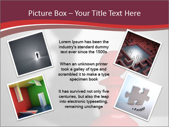 Red Chess Figure PowerPoint Template - Slide 24