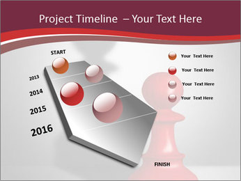 Red Chess Figure PowerPoint Template - Slide 26