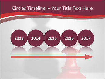 Red Chess Figure PowerPoint Template - Slide 29