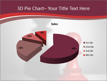 Red Chess Figure PowerPoint Template - Slide 35