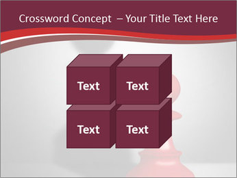 Red Chess Figure PowerPoint Template - Slide 39