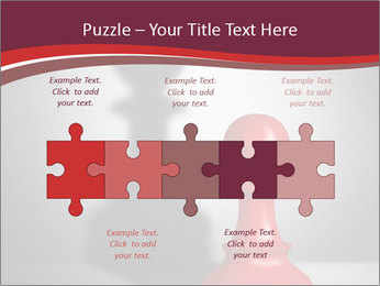 Red Chess Figure PowerPoint Template - Slide 41