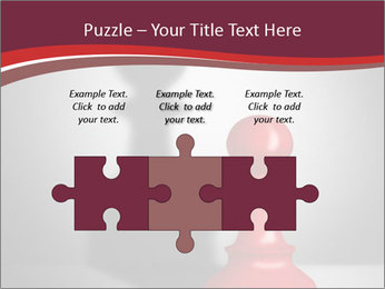 Red Chess Figure PowerPoint Template - Slide 42