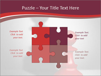 Red Chess Figure PowerPoint Template - Slide 43