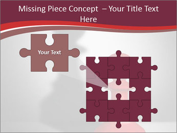 Red Chess Figure PowerPoint Template - Slide 45