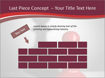Red Chess Figure PowerPoint Template - Slide 46
