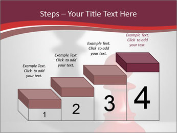 Red Chess Figure PowerPoint Template - Slide 64