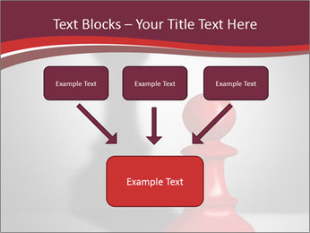 Red Chess Figure PowerPoint Template - Slide 70