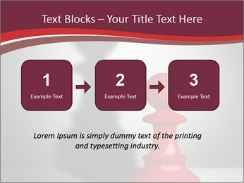 Red Chess Figure PowerPoint Template - Slide 71