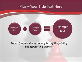 Red Chess Figure PowerPoint Template - Slide 75