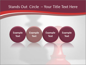 Red Chess Figure PowerPoint Template - Slide 76