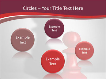 Red Chess Figure PowerPoint Template - Slide 77