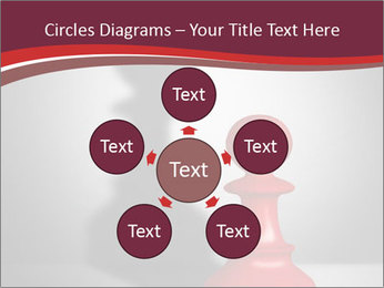 Red Chess Figure PowerPoint Template - Slide 78