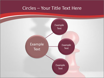 Red Chess Figure PowerPoint Template - Slide 79