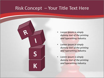 Red Chess Figure PowerPoint Template - Slide 81