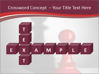 Red Chess Figure PowerPoint Template - Slide 82
