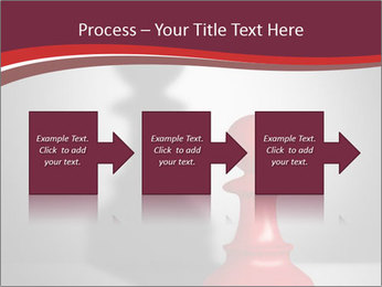Red Chess Figure PowerPoint Template - Slide 88